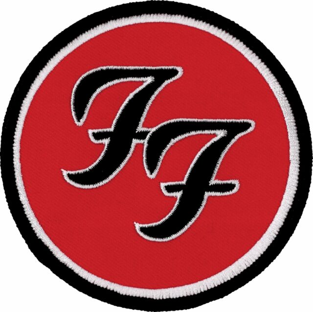 PUNK POP ROCK METAL MUSIC SEW ON /& IRON ON PATCH:- FOO FIGHTERS
