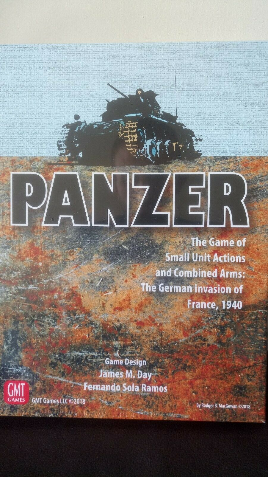 Panzer Expansion 4 GMT Games New and Sealed