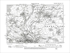 Old Ordnance Survey Maps Wrexham /& Vale Llangollen /& Plan Chirk 1904//1909 Offer