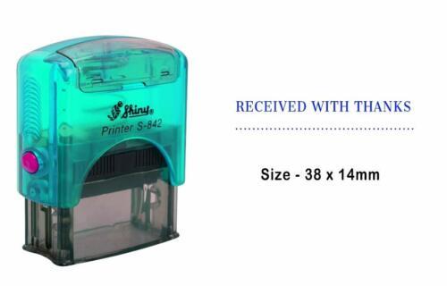 Erhalten mit Dank Shiny Stamp für Office Stationär S-842 Stempel