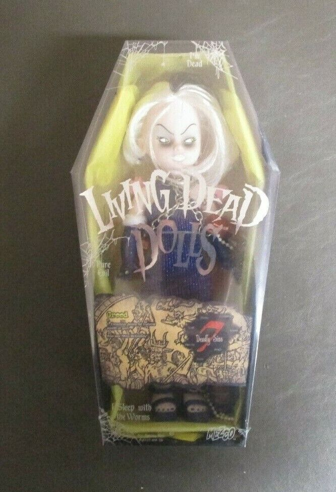 Greed Seven Deadly Sins 7 MEZCO Living Dead Dolls 10  MIB GV