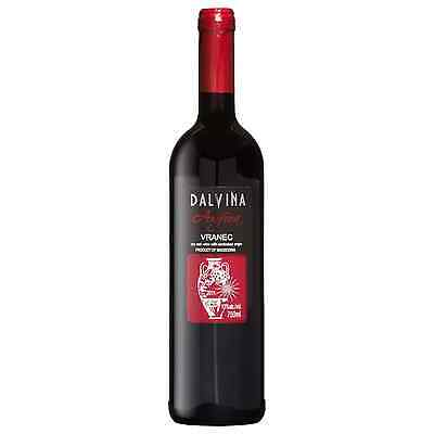 Dalvina Amfora Vranec 2011 case of 6 Dry Red Wine 750mL Strumishko - Radovishki