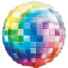 "Amscan 32"" Disco Fever 70s Original Jumbo Balloon Music Themed Party Decoration"