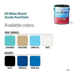Ramuc Type Ds Acrylic Pool Paint White Ebay