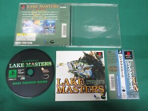 Playstation Bass Fishing Game Lake Masters Ps1 Japan Game 17243 4517015940048 Ebay