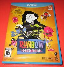 Runbow: Deluxe Edition (Nintendo Wii U, 2016)