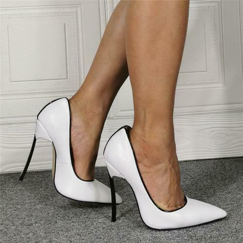 Details about  /Sexy Women Pointy Toe Stilettos High Heel Business Cocktail Pumps Formal Shoes L
