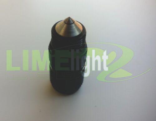 MAGLITE MINI 2AAA FLASHLIGHT TORCH UPGRADE TAIL CAP GLASS BREAKER  BLACK