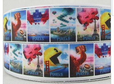 Pixels Movie ribbon Pac Man Space Invaders