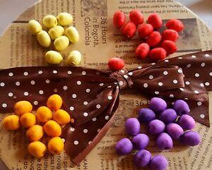 Œufs de pâques (ouates tournante) dans différentes couleurs... magasin de fournitures, bastelndeko, cadeau...  </span>