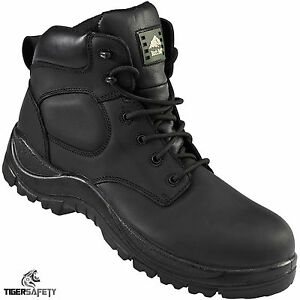 4b5bc35a20d Details about Rock Fall Jet RF222 S3 SRC Waterproof Wide Fit Zip Up Non  Metallic Safety Boots