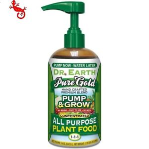 Dr. Earth Pump and Grow 16-oz Natural All Purpose Food Pure gold