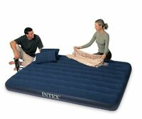 Intex Classic Downy Queen Airbed With 2 Pillows And Double Quick Hand Pump , on sale