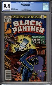 Black-Panther-11-CGC-Graded-9-4-NM-Marvel-Comics-1978
