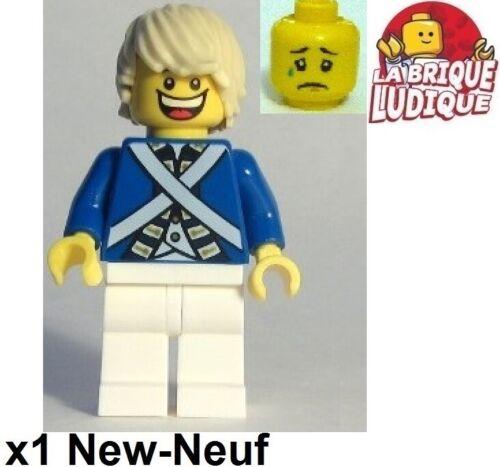 Lego Figurine Minifig Pirates soldat soldier impérial garde guard pi175a NEUF