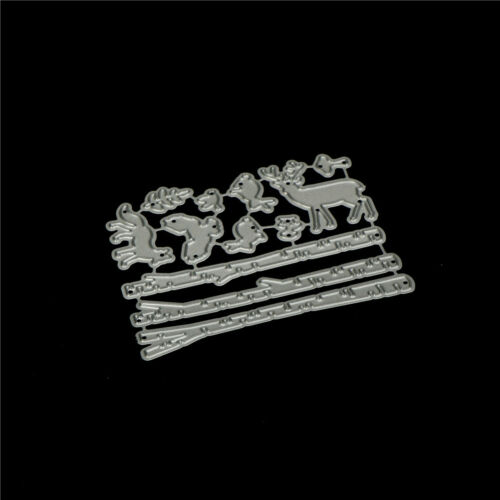 Forest Tree Pole Design Metal Cutting Dies For DIY Scrapbooking Album Card OF