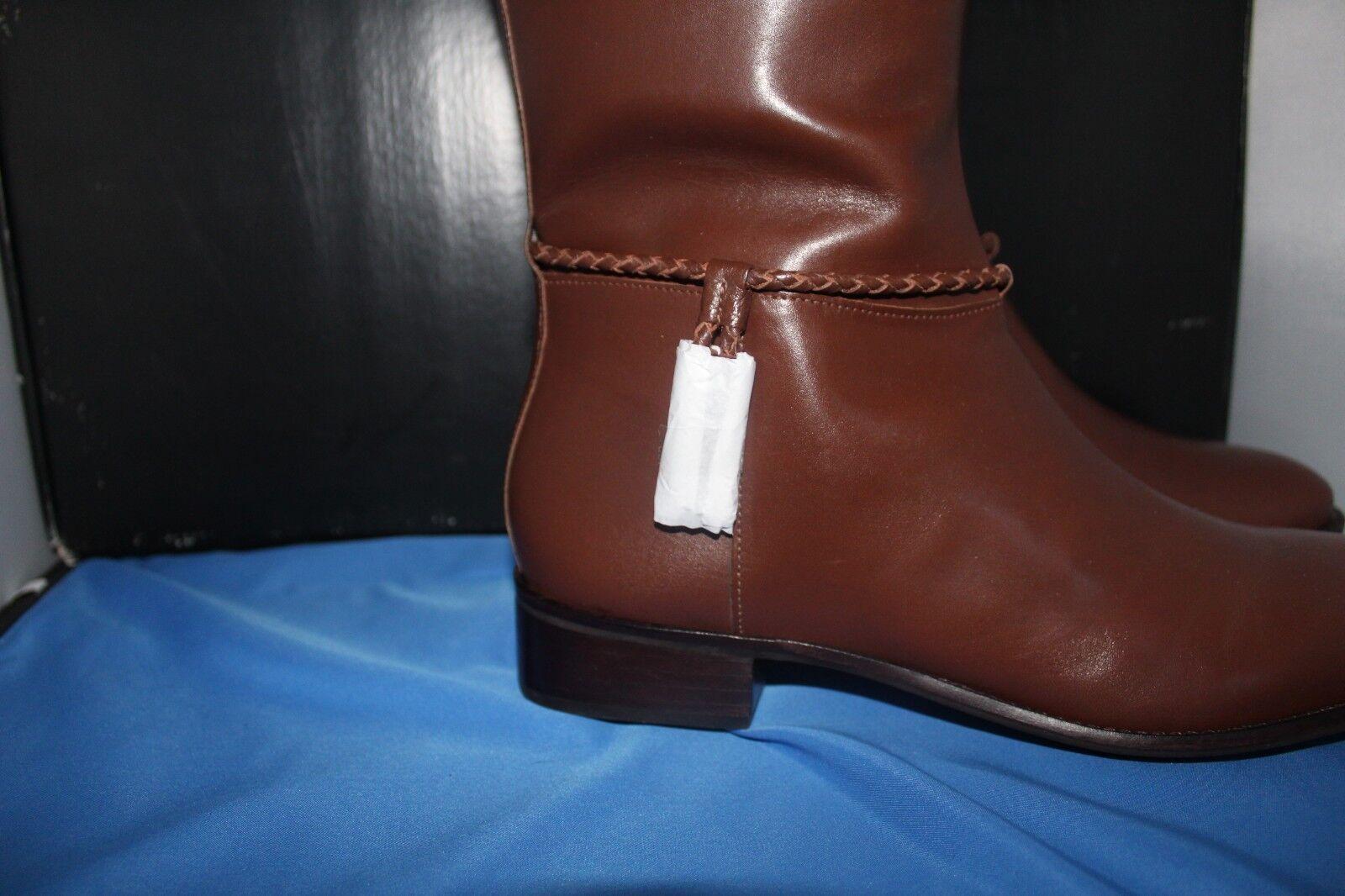 Talbots damen Stiefel - Größe 10 1 2M 2M 2M - Tish Rope Riding Stiefel - Chocolate 2096aa