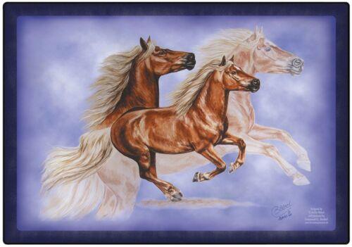 Platzdeckchen//Unterlage Pferdemotiv HAFLINGER ASTERIX 23014 Collection Boetzel