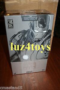 Rare Hot Toys Machine de guerre Iron Man 3 Mark Ii miniature 1/6 Sideshow Exclusive Nouveau