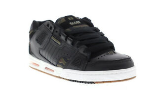 Globe-Sabre-Mens-Black-Synthetic-Athletic-Lace-Up-Skate-Shoes