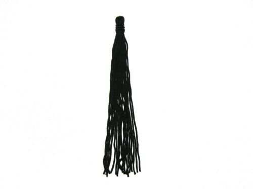 "Lily 6/"" Black Beaded Tassel Fringe Decorative Crafts Sewing Notions by Piece"