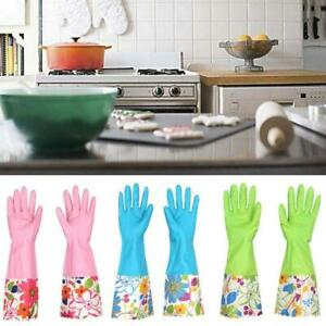 PVC-Plastic-Latex-Cleaning-Household-Laundry-Dish-washing-In-The-Kitchen-Gloves