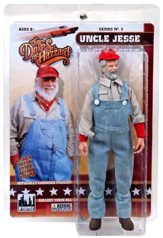 The Dukes of Hazzard Series 2 Uncle Jesse Deluxe Action Figure