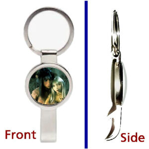 The Dark Crystal Jen Pendant or Keychain silver tone secret bottle opener