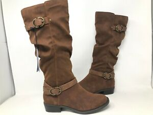 NEW-Sonoma-Women-039-s-Good-For-Life-Draw-Cognac-Zipper-Boots-Brown-132642-175W-yk