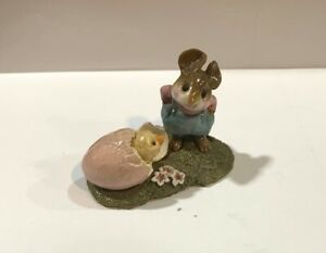 Wee-Forest-Folk-Welcome-Chick-Pink-Egg-Easter-Edition-M-193-Retired