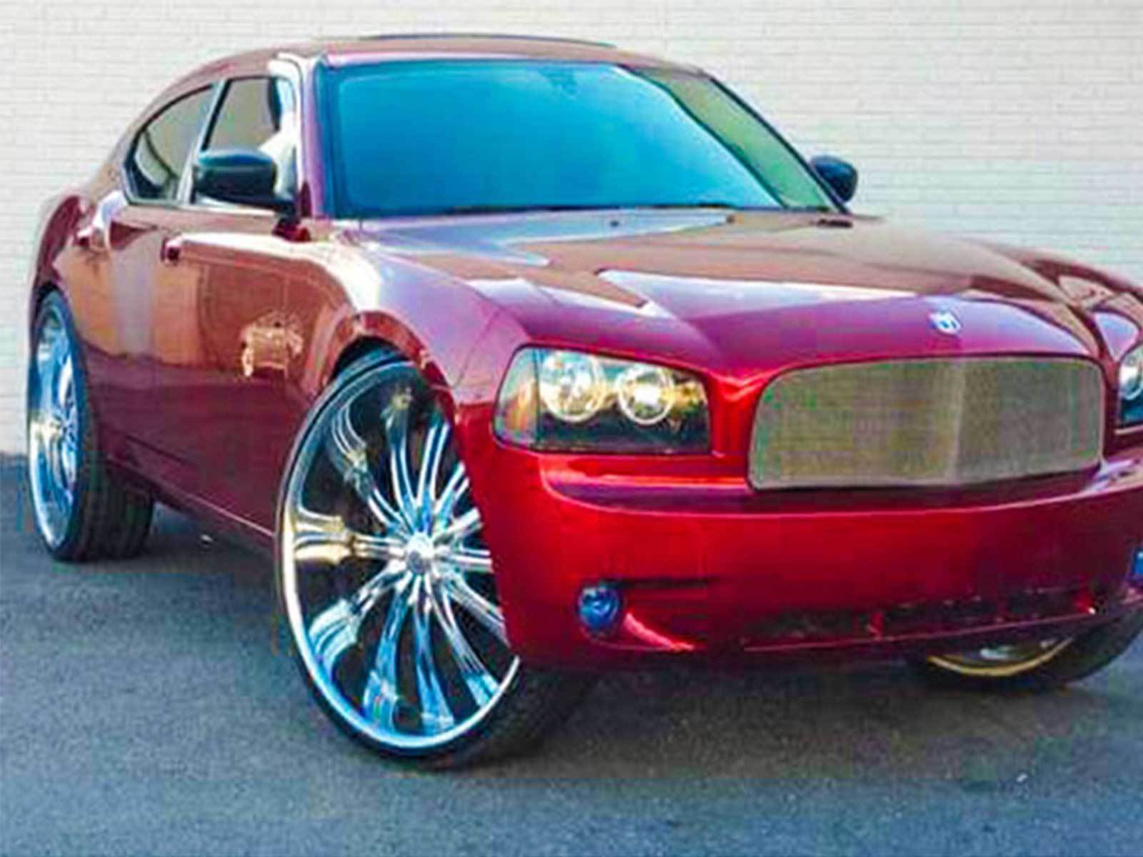 """2009 Dodge Charger 3 inch Lift Kit fit 22/"""" 24/"""" Rims check us Liftabrand.com"""