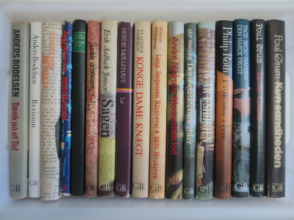 gyldendals roman bogklub