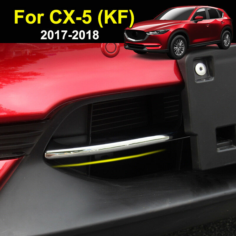 Black titanium Rear Tail Lamp Tail Light Cover Trim For Mazda CX-5 CX5 2017 2018