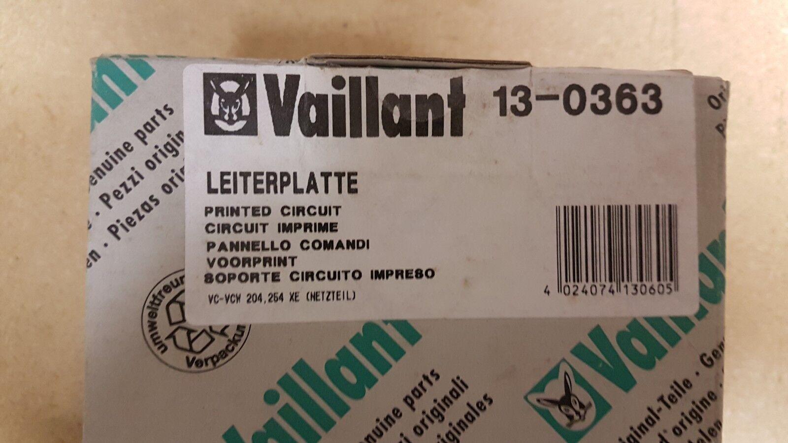 Vaillant Leiterplatte 13-0363 VC-VCW  204, 254  XE  - NEU OVP