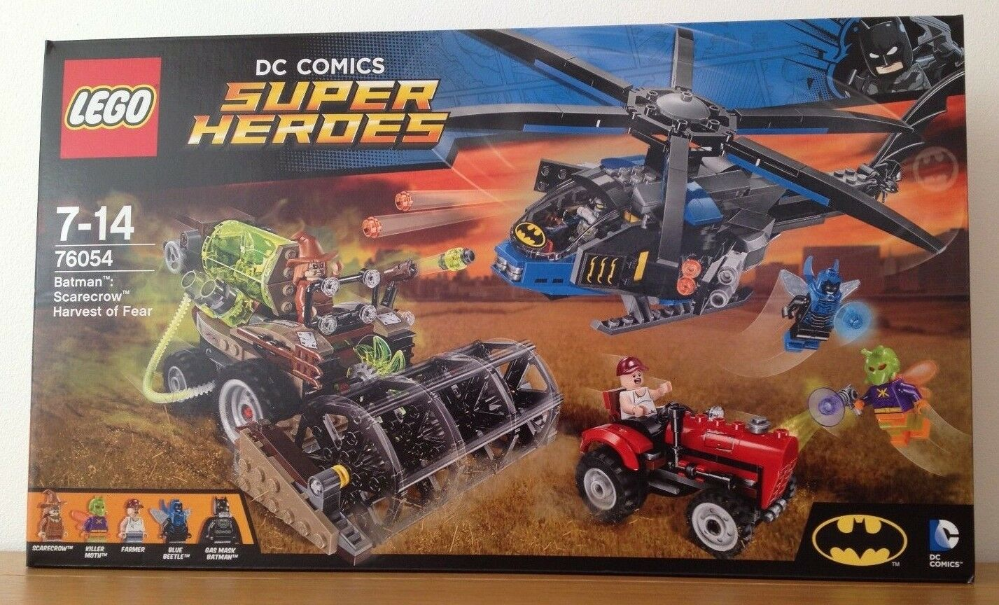 LEGO DC Comics Super Heroes BATMAN Scarecrow Harvest Of Fear (76054) New Sealed