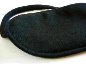 100-cashmere-sleep-eye-mask-shade-blindfold-aid-Black-lined-with-100-silk