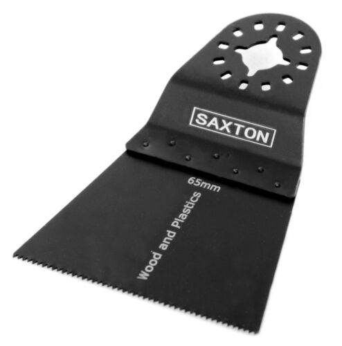 Bosch Oscilante Multiherramienta 1x Hoja De Madera Saxton 65mm Para Fein Multimaster