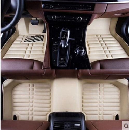 For Honda Accord Floor Mats Front Rear Carpet Auto Mat All Weather Waterproof
