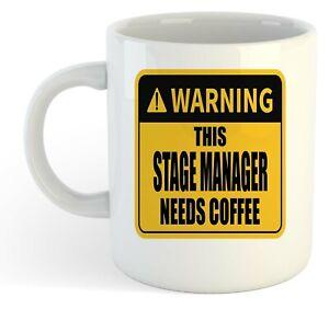 Warning-Esta-Etapa-Director-Necesita-Cafe-Blanco-Taza-Regalo-Trabajo-Regalo