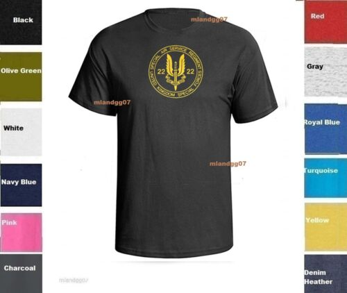 United Kingdom Army SAS Uk Special Air Service Ops Man T-shirt