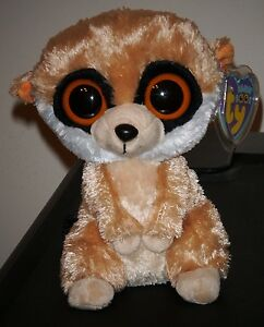 accd8e966ae Image is loading Ty-Beanie-Boos-REBEL-the-Meerkat-6-Inch-