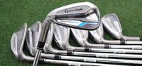 Taylormade Golf Speedblade Iron Set 4-pw&aw - Left Hand Steel Regular -