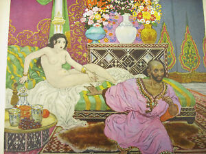 Die-1000-Lmille-und-einer-Nacht-Kunstblatt-Sc-Leon-Vierkantig-1926-Orientalismus