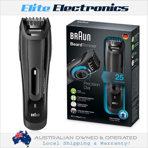 braun bt5070 series 5 cordless precision beard trimmer groomer wet dry shaver ebay. Black Bedroom Furniture Sets. Home Design Ideas