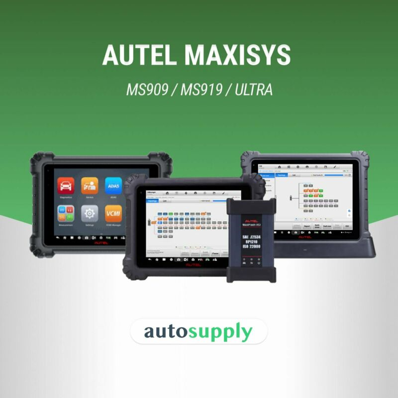 Supplier of Autel Maxisys (MS909 / MS919 / Ultra) OEM- Level Diagnostic Tools