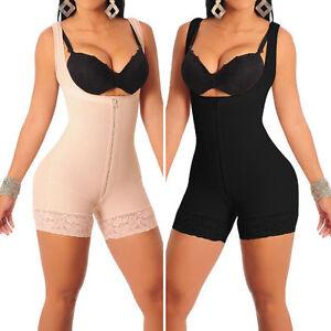 f6316ccb87d Women s Body Shaper Waist Cincher Underbust Corset Bodysuit Jumpsuit ...