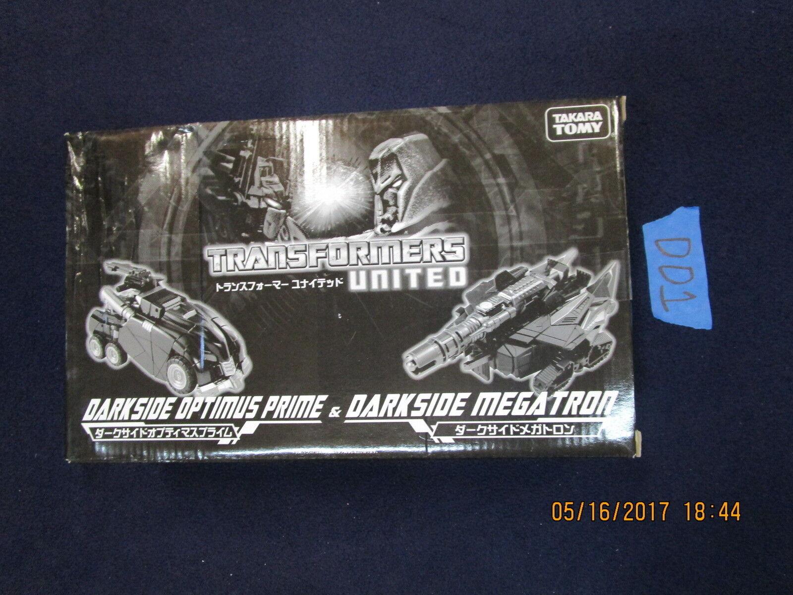 Con 100% de calidad y servicio de% 100. Transformers Lote Unidos DD1 Takara Darkside Optimus Prime & Megatron Megatron Megatron WFC foc  mejor marca