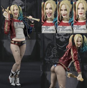 6-034-Suicide-Squad-Harley-Quinn-PVC-Action-Figure-Collection-Model-Gift-New-In-Box