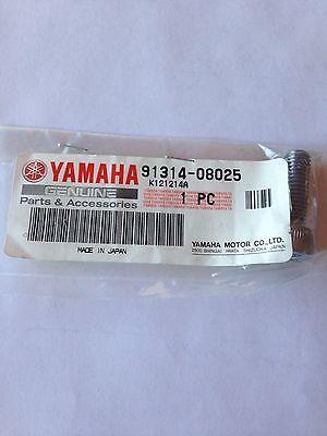 2 nos Yamaha motorcycle socket head bolts v-star royal virago fender 91314-08025