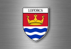 Sticker-decal-souvenir-car-coat-of-arms-shield-city-flag-london-uk-england